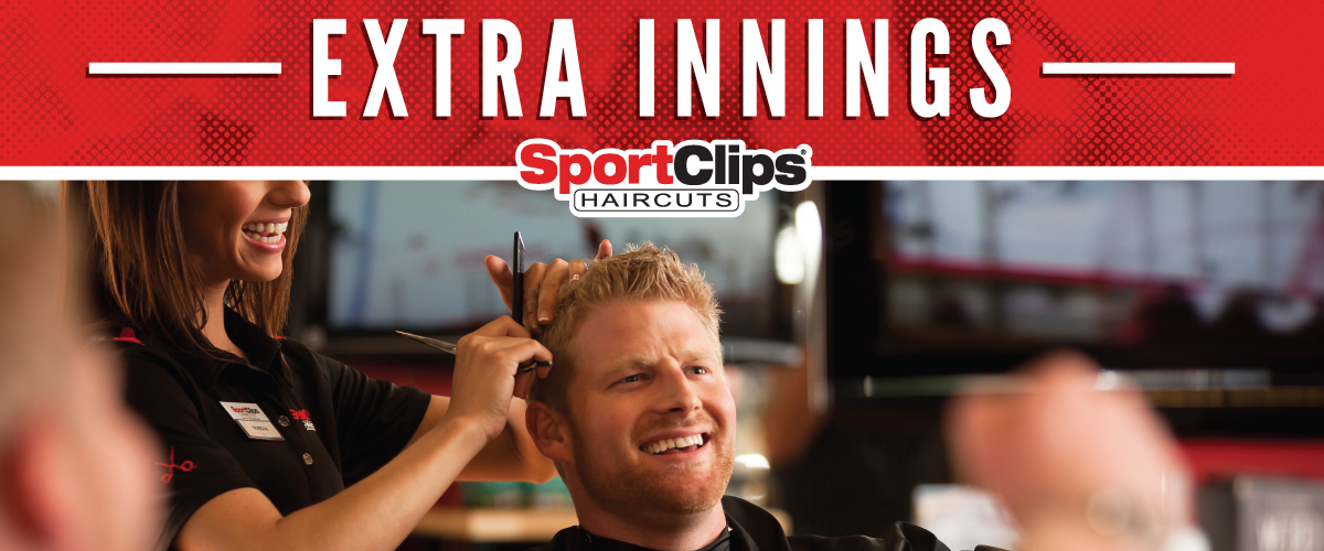 The Sport Clips Haircuts of Elmhurst Extra Innings Offerings